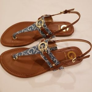 Brand New Denim G by Guess Lester Sandals